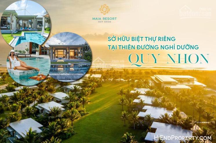 Kiệt tác biệt thự 100% view biển Quy Nhơn - Khai thác vận hành cho thuê rất tốt, giá 6,5 tỷ/căn ảnh 0