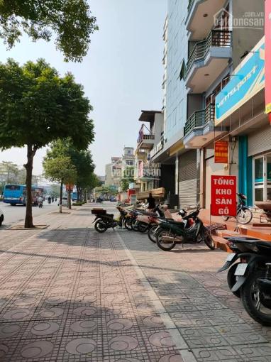 Bán nhà mặt phố Ngô Gia Tự, Long Biên, Hà Nội. DT 100m2, mặt tiền 4.5m, 4 tầng, cho thuê 40tr/th ảnh 0