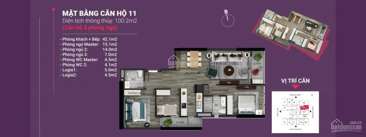 Chiết khấu lên đến 400 triệu đồng khi mua căn hộ tứ quý tại dự án The Nine Phạm Văn Đồng ảnh 0