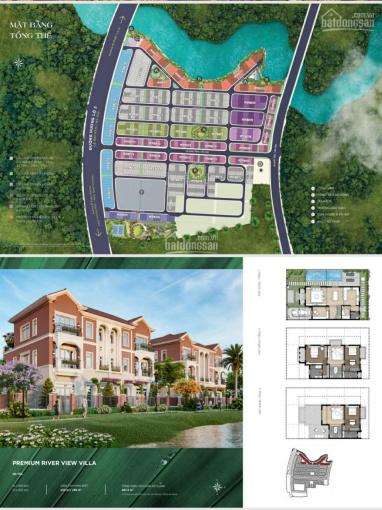 Bán nhà phố 6x19.5m phân khu Riverpark 1 giá 6,563 tỷ, giá hòa vốn, LH 0974.597.867 ảnh 0