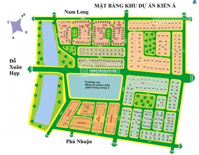 Đặt biệt! Bán các nền KDC Kiến Á, trục đường Liên Phường, phường Phước Long B, Q9; 0933843234 ảnh 0