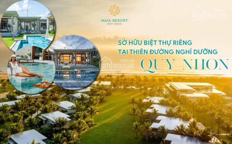 Kiệt tác biệt thự 100% view biển MaiA Quy Nhơn Resort- Vận hành bởi Fusion, giá 6.5tỷ/căn đã có VAT ảnh 0