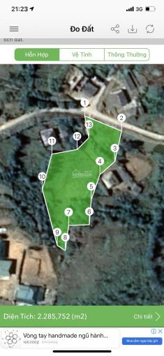 Chính chủ cần bán gấp miếng đất view cực đẹp diện tích 2000m2 thôn Phan Cán Sử, liên hệ 0984989711 ảnh 0