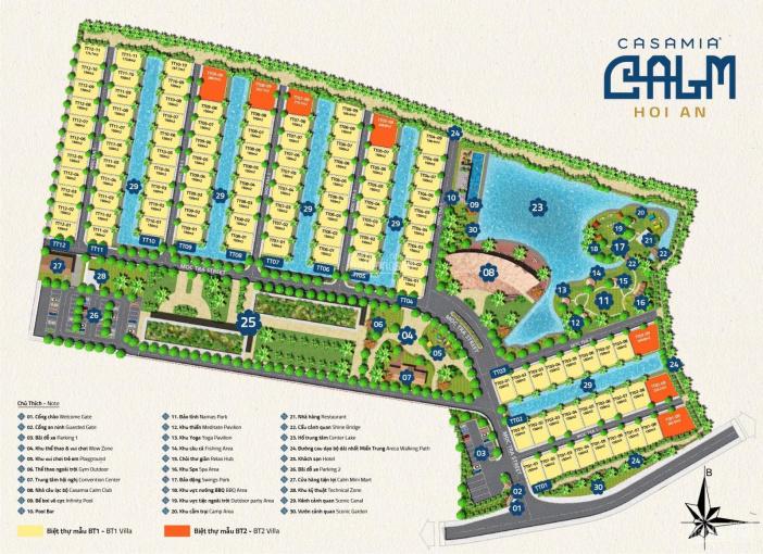 Cần tiền bán lỗ căn biệt thự Casamia Calm TT11 giá tốt nhất thị trường - 0901148603 ảnh 0