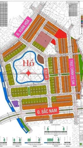 Chính chủ 8 lô đất đấu giá khu đô thị Thăng Long tổ 14 Túc Duyên, Thái Nguyên, đã có SĐ, 0366010111 ảnh 0