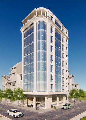 Bán gấp tòa nhà mặt phố Trần Thái Tông, Cầu Giấy. DT 135m2 * 9T, MT 7m, lô góc 3 mặt thoáng, 55 tỷ ảnh 0