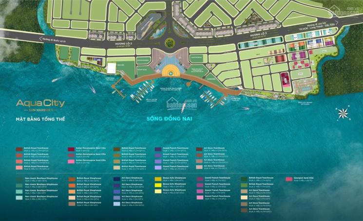 Cực hiếm, nhà phố view sông Aqua City, ngay bến du thuyền Aqua Marina. LH trực tiếp: 0944123839 ảnh 0