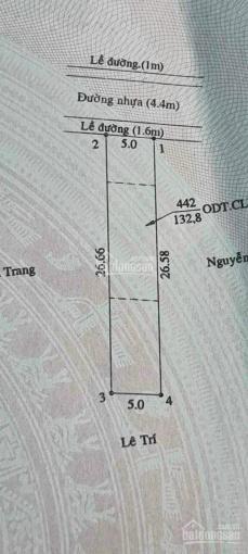 Bán đất đẹp đường Bùi Ngọc Thu, Hiệp An DT 5x26m, TC 60m2 giá 2 tỷ 350 ảnh 0