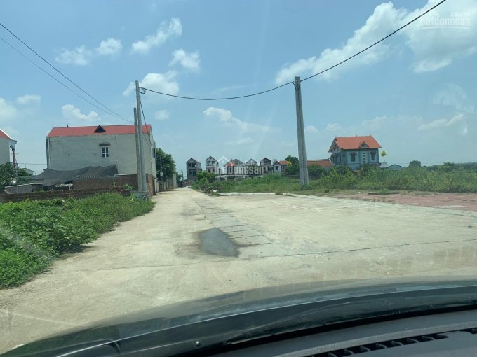 Bán đất 96m2 đối diện khu đấu giá Bắc Thượng, Quang Tiến, Sóc Sơn, LH 0399786838 ảnh 0