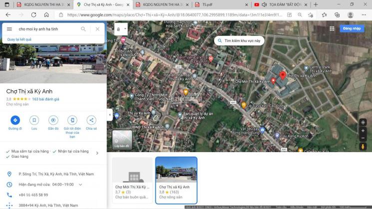 Bán nhà riêng thị xã Kỳ Anh, Hà Tĩnh 995m2 - chính chủ ảnh 0