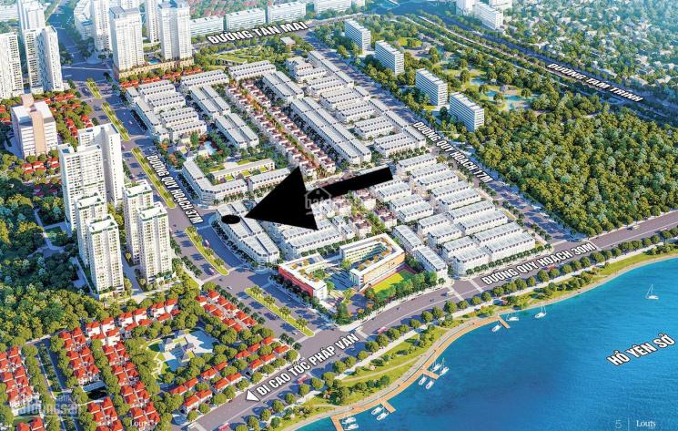 Chính chủ - bán căn L1.87, mặt đường 40m, căn góc 2 mặt thoáng. Giá rẻ hơn thị trường 20tr/m2 ảnh 0