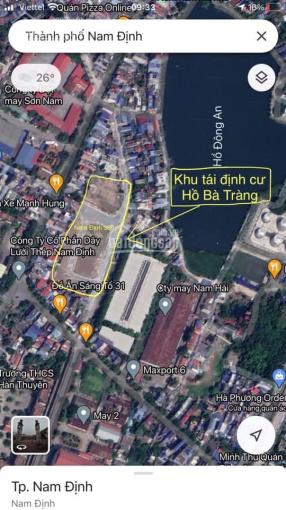 Bán lô đất đấu giá Hồ Bà Tràng, đường Nguyễn Văn Trỗi, MĐ to 24m, gần hồ Đông An, 79.4m2, 2 tỷ ảnh 0