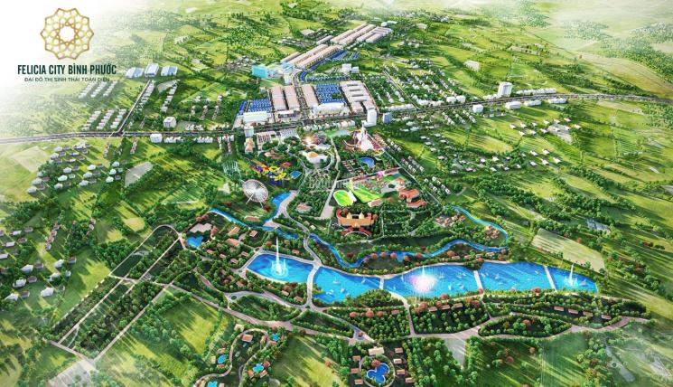 Đại đô thị sinh thái toàn diện Felicia City Bình Phước ảnh 0
