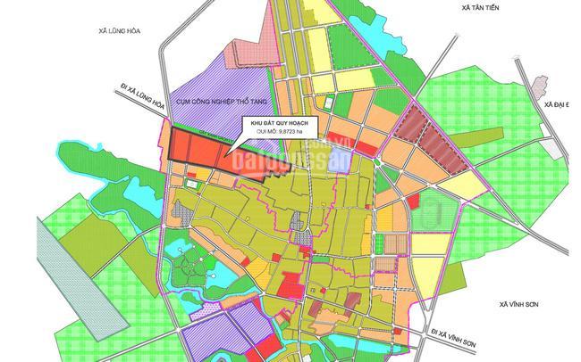 Thông tin dự án khu đô thị mới Thổ Tang Vĩnh Tường Vĩnh Phúc ảnh 0