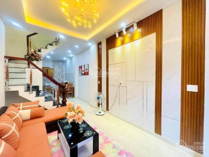 Nhà mới đẹp, 34m2 (3.3x10.5m), đường số 10 - P9 - GV, 3.85 tỷ, tặng full nội thất cao ảnh 0