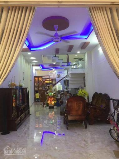 Nhà cần bán hẻm Phạm Văn Chiêu, phường 14, Gò Vấp, DT: 4 x 20m, đúc 1 tấm, giá 6tỷ500tr ảnh 0