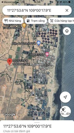Chính chủ cần bán lô đất NN thuộc diện chỉnh trang đất ở ven biển khu vực Từ Thiện, Mũi Dinh ảnh 0