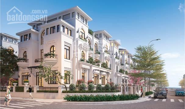 Biệt thự Louis City Hoàng Mai, DT 310m2, lô góc hai mặt thoáng, vị trí tuyệt đẹp mặt phố Tân Mai ảnh 0