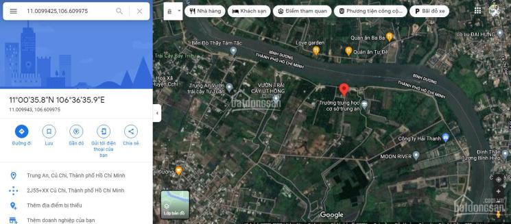 Chính chủ bán đất tại Trung An, Củ Chi, xã Trung An, MT sông Sài gòn, SHR giá rẻ nhất chỉ 4tr9/m2 ảnh 0