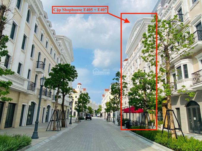 Cần bán gấp cặp shophouse phố đi bộ dự án shophouse châu âu - Mr. Sang 0911020678 ảnh 0