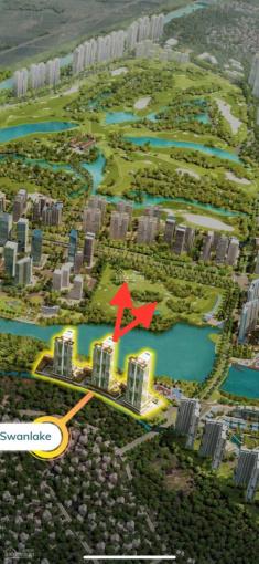 """""""Không chênh"""" căn hoa hậu 3PN view hồ Thiên Nga căn hộ khoáng nóng Onsen 0898083866 ảnh 0"""