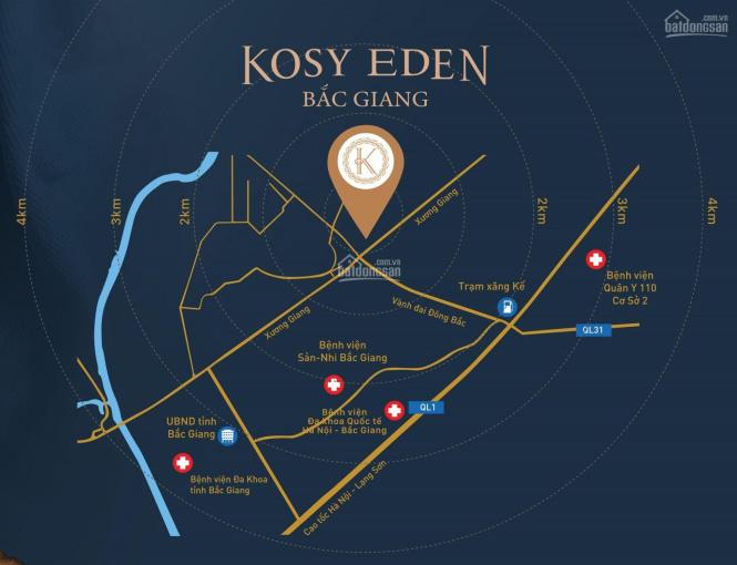 Dự án Kosy Eden - Xương Giang - TP. Bắc Giang ảnh 0