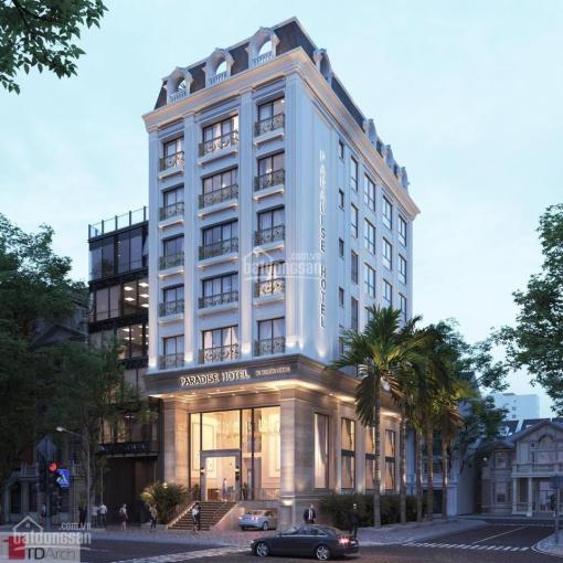 Bán khách sạn mặt phố Miếu Đầm - Đỗ Đức Dục, đối diện KS Marriott. DT 200m2 x 9 tầng, 41 phòng ảnh 0
